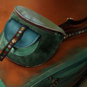 Nerka Azteczka w turkusach