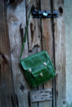 ahoj teczka zielona przód ukos długi pasek