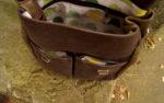 chimera zgniła zieleń brąz 6 środek podszewka żółwie kieszenie