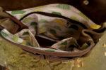 chimera zgniła zieleń brąz 7 podszewka żółwie