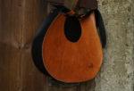 janis pomarańczowy brąz półprofil lewy