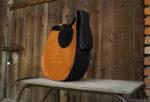 janis pomarańczowy brąz prawy profil pas