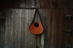 janis pomarańczowy brąz długi pasek
