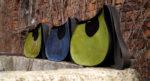 janis zielona niebieska trzy torby
