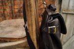 Lilith torba plecak skórzany bok