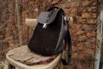 Lilith torba plecak skórzany