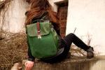 lilith zielona modelka tył