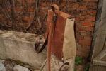 plecak włóczykij brezent len orzech 8 tył szelki