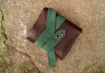 Skórzany portfel elficy zamknięty 5