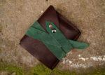 Skórzany portfel elficy zamknięty 4