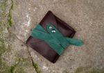 Skórzany portfel elficy zamknięty 3