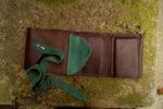 Skórzany portfel elficy brąz 2