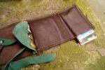Skórzany portfel elficy drobne