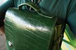 chimera smoczyca zielona klapa detale