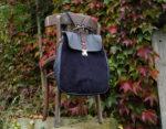 lilith granatowa front plecak